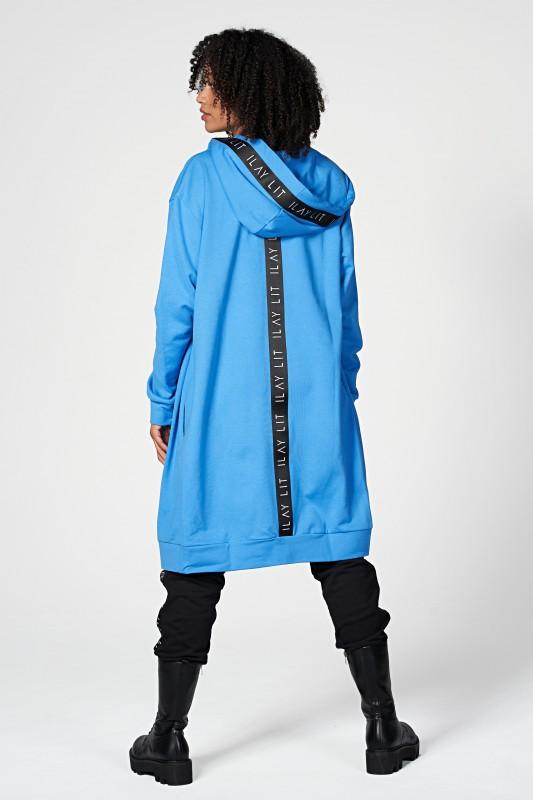 Hoodiemantel Midi Royal