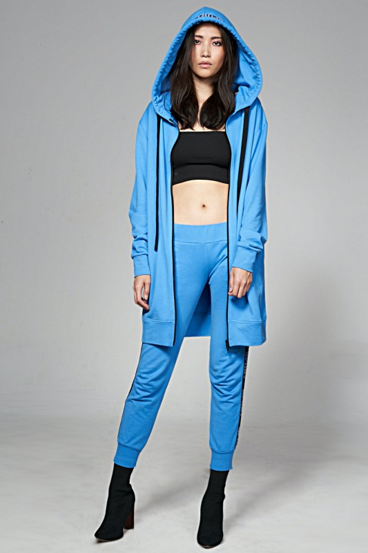 Mantel Midi Blue