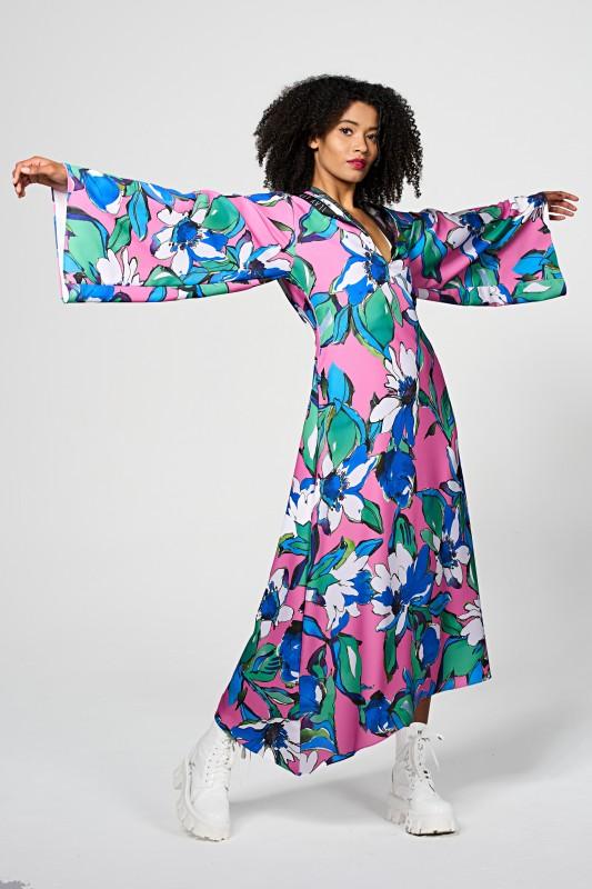 Melody Flowerdress- Pink