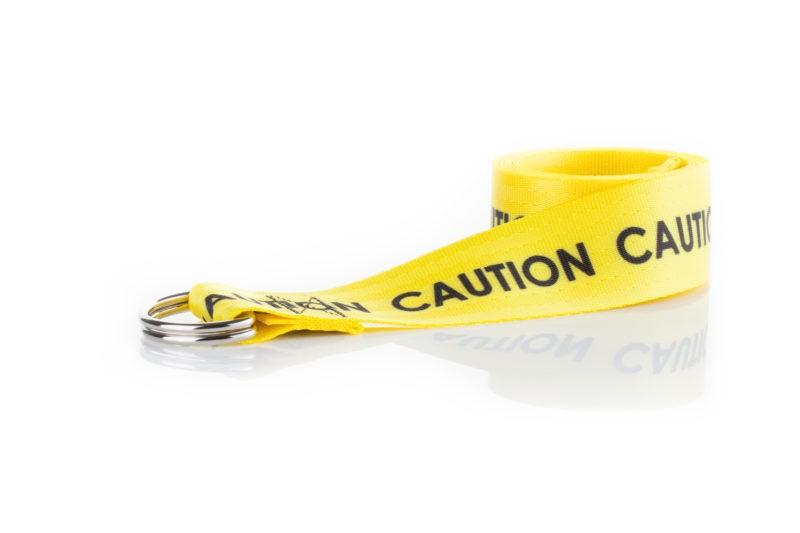 Dept Belt Caution