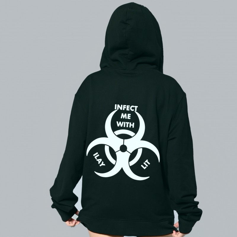 Ike Face Mask Hoodie- Infect Me