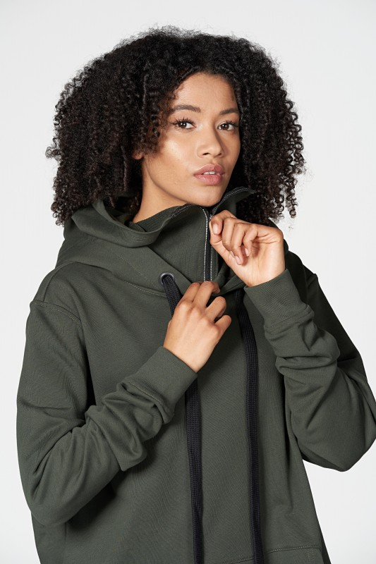Ike Face Mask Hoodie UNISEX bis XXL OLIVE