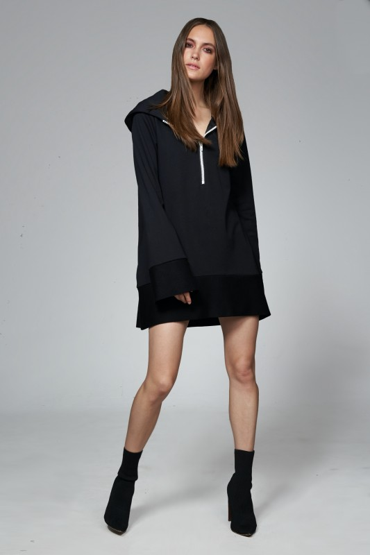 Amy Hoodiekleid W